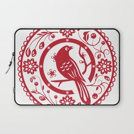 Traditional chinese paper cut Laptop Sleeve