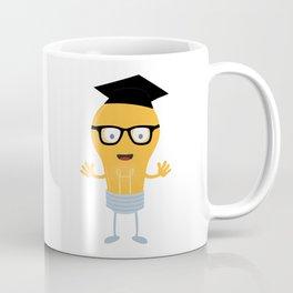 Nerd light bulb with glasses Bh171 Coffee Mug