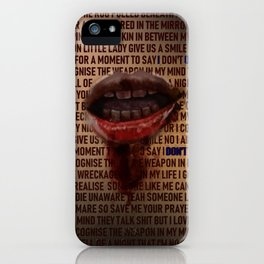 I Don't Owe You A Goddamn Thing (Nightmare) iPhone Case
