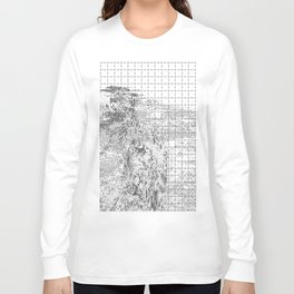 silicon dioxide (SiO2) Long Sleeve T-shirt