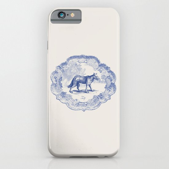DelftWare Wolf iPhone & iPod Case