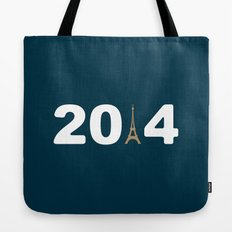 2014-Paris Tote Bag
