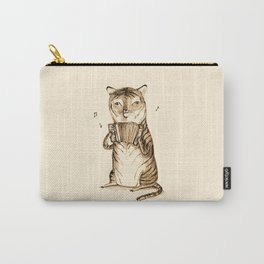 Accordion Tiger Carry-All Pouch