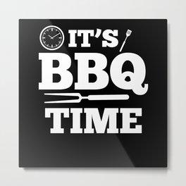 Barbecue Grill Season Metal Print
