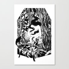 'The Erl King will do you grievous harm' Canvas Print
