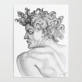 Ignudi. after Michael Angelo Poster