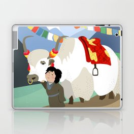 A child and his best friend Laptop & iPad Skin