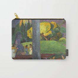 Mata Mua by Paul Gauguin Carry-All Pouch