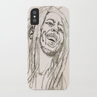 marley iPhone & iPod Cases featuring Marley by Deelara