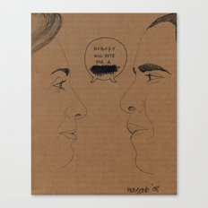 Sexism vs Racism Canvas Print