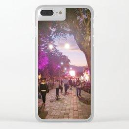 Parque Juarez Clear iPhone Case