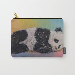 Baby Panda Rainbow Carry-All Pouch