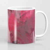 fez Mugs featuring O Cravo e a Rosa by Fernando Vieira