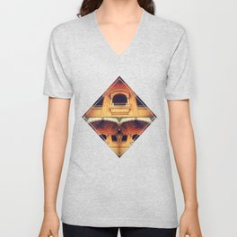 Ancient windows to other dimensions Unisex V-Neck
