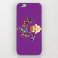 nerd iPhone & iPod Skins featuring Nerd by Mouki K. Butt