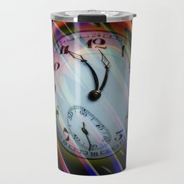 Abstract - Perfection- Time is running Travel Mug