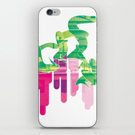 Twist Of Lime iPhone Skin