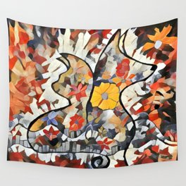 C and D Lovers 2 Wall Tapestry