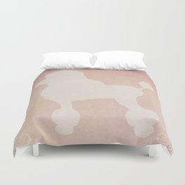 Oy with the poodles already Duvet Cover