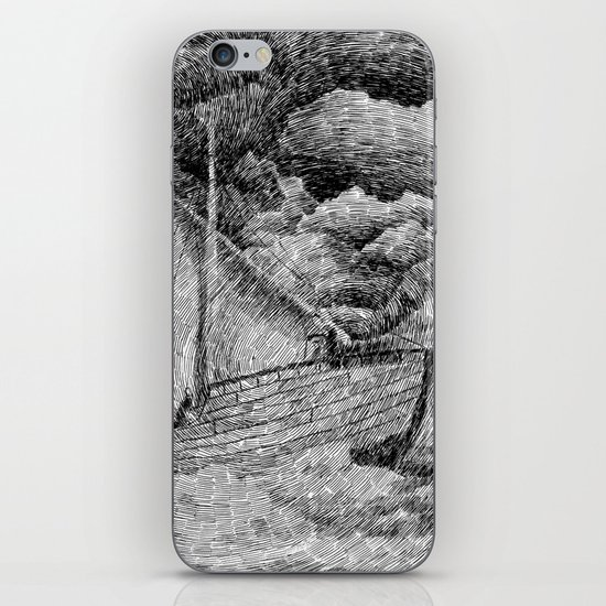 Fingerprint - Sailing iPhone & iPod Skin