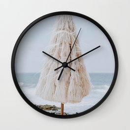 summer beach x Wall Clock