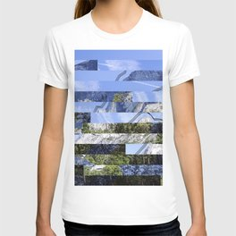 Yosemite Lines Corrupted T-shirt