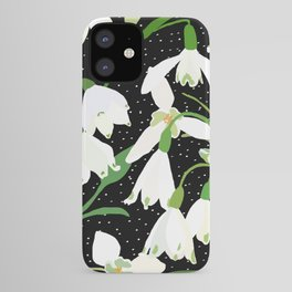 Snowdrop Floral iPhone Case
