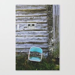 Faust with Nothing Canvas Print