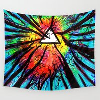 floyd Wall Tapestries featuring Floyd Forest by TheSeed91