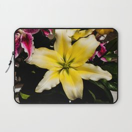 Yellow Lily Laptop Sleeve