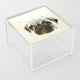 Pug 2 Acrylic Box