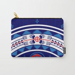 Bear Spirit (Blue) Carry-All Pouch