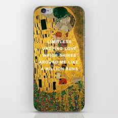 The Kiss Across the Universe iPhone & iPod Skin