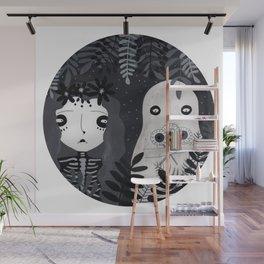 Ojos de paleta Wall Mural