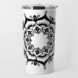 Mandala: hand-drawn Travel Mug