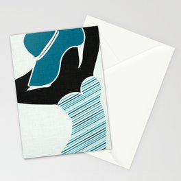 Vintage Beach Bombshell Stationery Cards