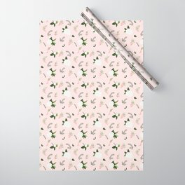 Winter Flower Wrapping Paper