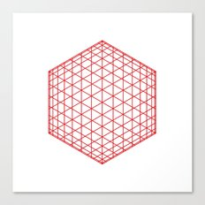 #184 Sphere/cube – Geometry Daily Canvas Print