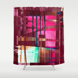 absolutely not Shower Curtain