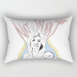 nat the fat rat Rectangular Pillow