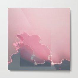 Pink Light Metal Print