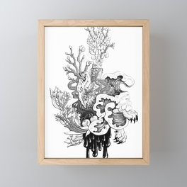 Fairytale : The Devourer Framed Mini Art Print