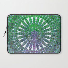 Spring Mandala Wheel Laptop Sleeve
