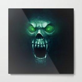 Ghoul - Ice Metal Print