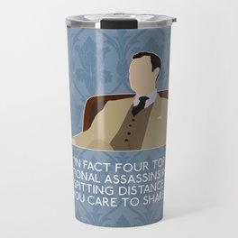 The Reichenbach Fall - Mycroft Holmes Travel Mug