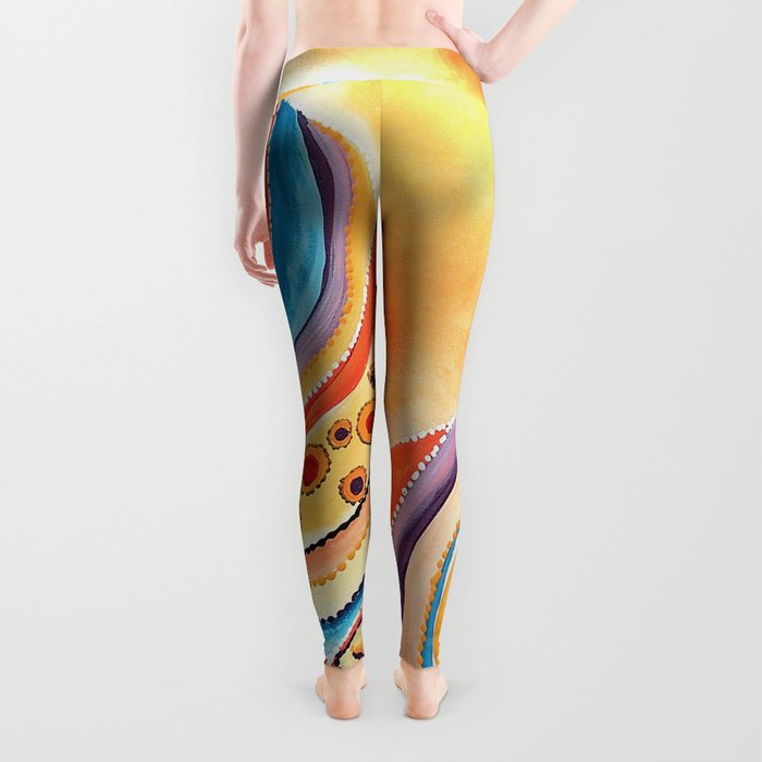 Tiger Of The North Leggings