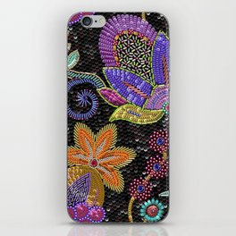 Sequins seamless pattern. iPhone Skin