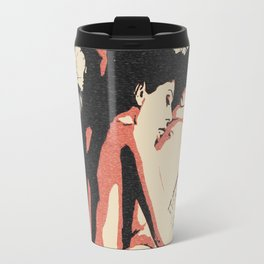 Girls love to play naughty, dirty, kinky - sexy conte erotic, lesbian girls nude, naked gay woman Travel Mug