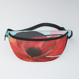 Poppy Dreams Fanny Pack