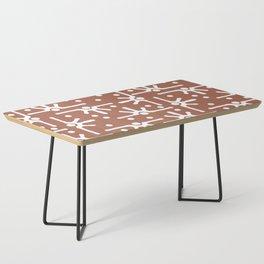 Desert Sun Pattern Coffee Table